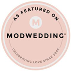 modweddingbadge pink medium147