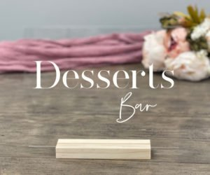 dessert bar table sign eb
