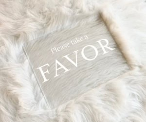 favors table wedding sign ee