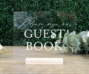 guest book table sign eff