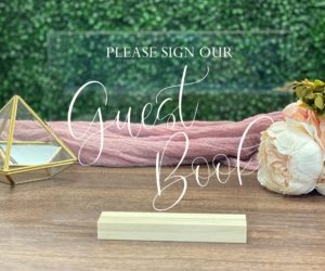 guest book table sign efe