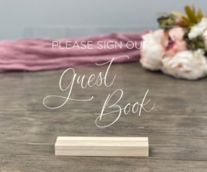 guest book table sign ee