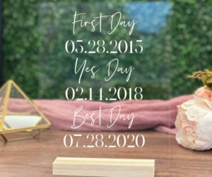 personalized first day yes day best day sign eecb