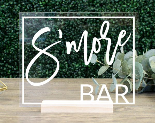Bar Table Sign