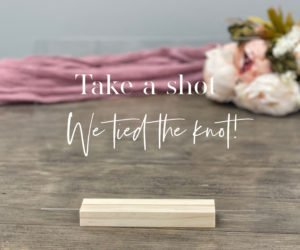 take a shot table sign ef