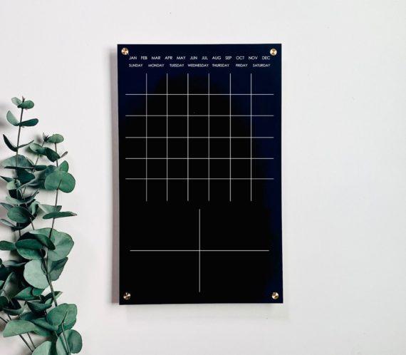Monthly Acrylic Wall Calendar