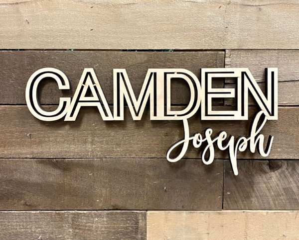custom wood name sign eadc
