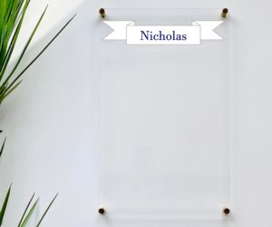 personalized dry erase board for kids eaf