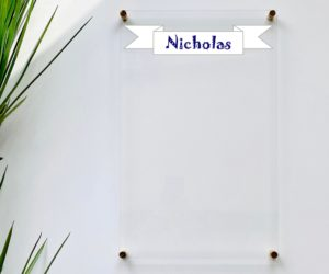personalized dry erase board for kids eafbd