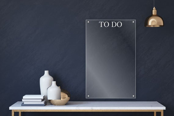 acrylic to do list for wall eb