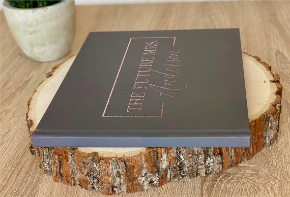 Custom Bridal Shower Guest Book