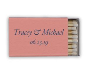 Personalized Matches, set of 50