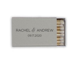 Personalized Wedding Matches, set of 50