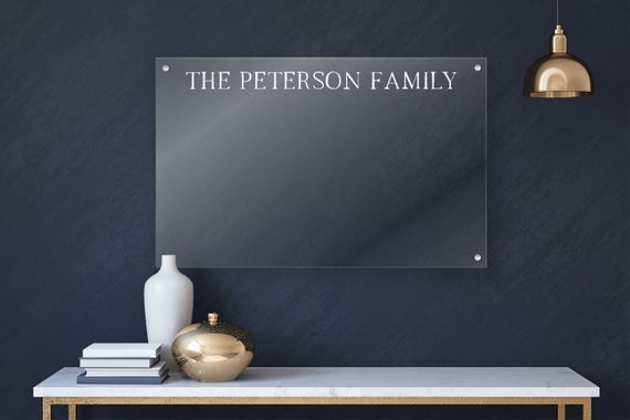 Personlized Acrylic Board For Wall