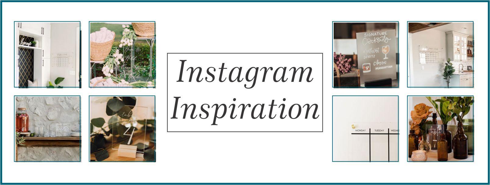 Instagram Inspiration Banner