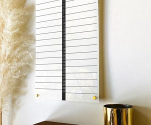 Acrylic Monthly Calendar Board For Wall