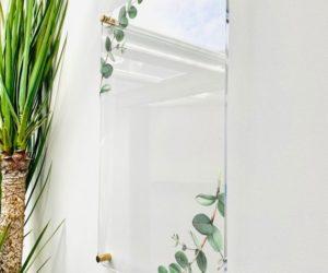 Acrylic Notes Eucalyptus Board For Wall