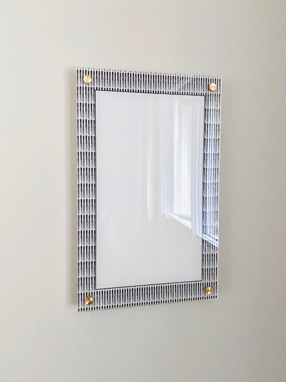 Acrylic Modern Blank Notes Board For Wall