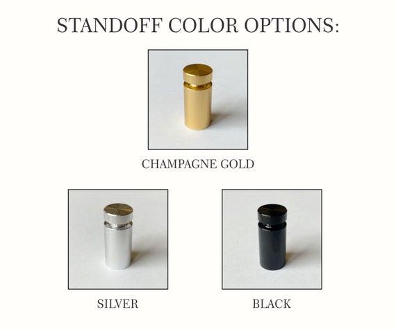 Standooff Color Options