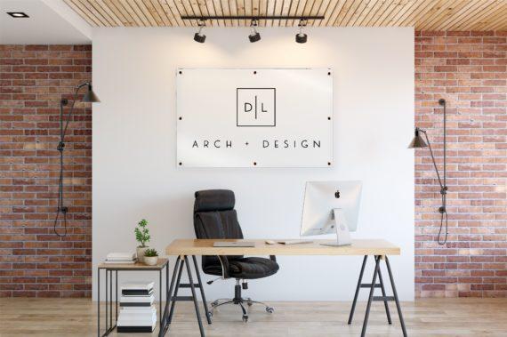 Custom Acrylic Business Logo Sign