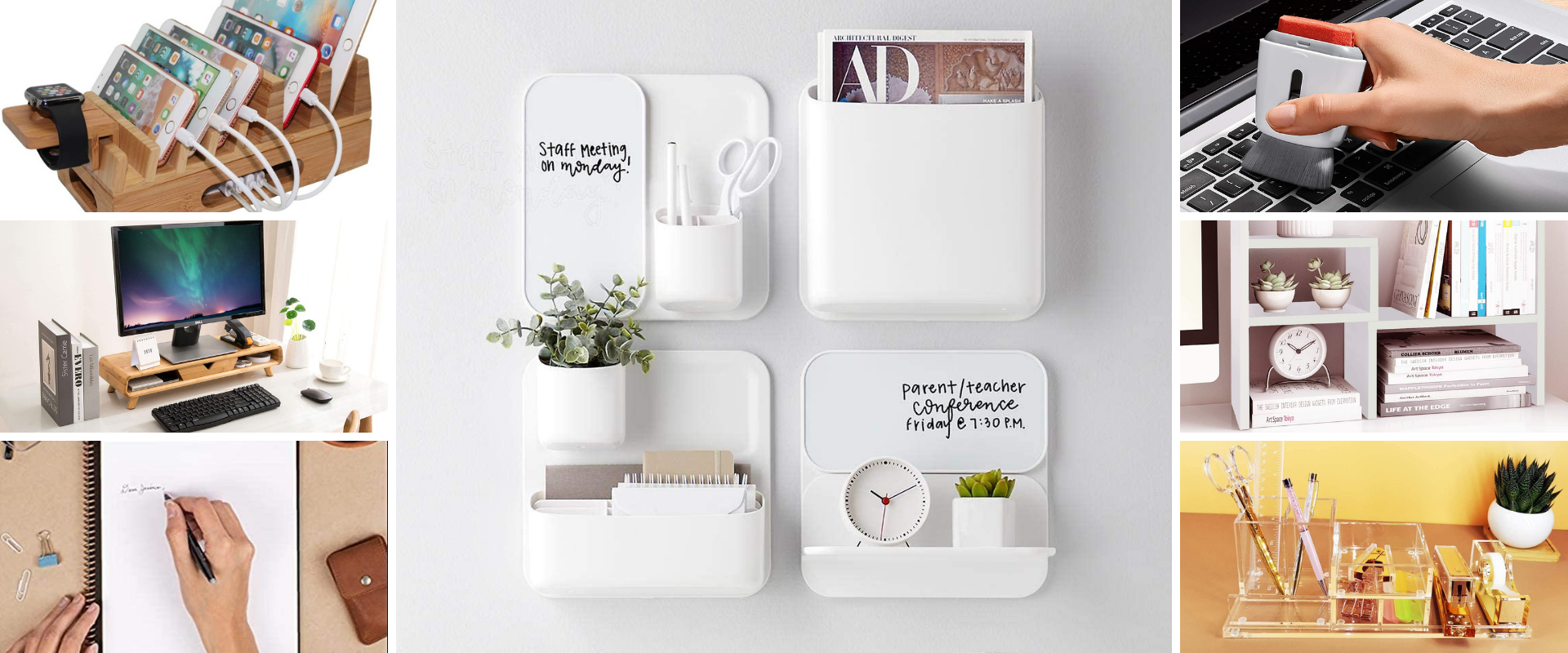 16 Things for Anyone Who Craves a Well-Organized Home Office