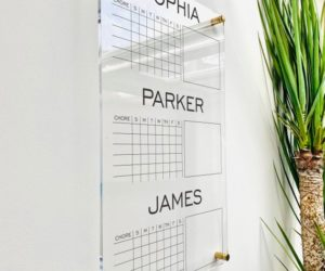 Personalized Chore Chart For 3 Kids