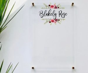 Personalized Dry Erase Board For Kids
